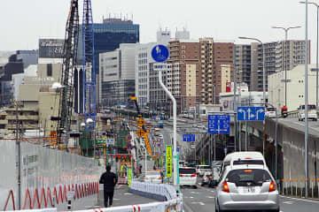 河岸段丘を上り勾配で貫く北大阪急行延伸区間、2/8に箕面船場阪大前駅 シールドトンネル工事現場を公開
