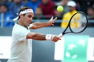 「ATP1000 ローマ」でのフェデラー