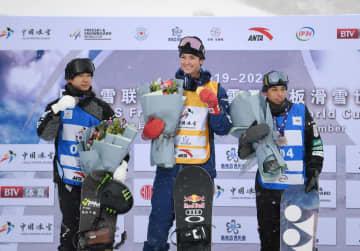 日本勢が2位と3位 スノーボードW杯男子HP