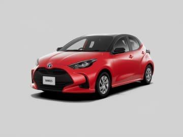 新型車ヤリス(写真:トヨタ自動車発表資料より)