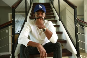 Sounwave, pictured at his home, is nominated for multiple Grammys and an Academy Award for his producing and songwriting work on the 'Black Panther' soundtrack. - Kirk McKoy/Los Angeles Times/TNS