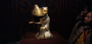 2人の諸侯王の生活を垣間見る 南京博物院で漢代王墓の特別展