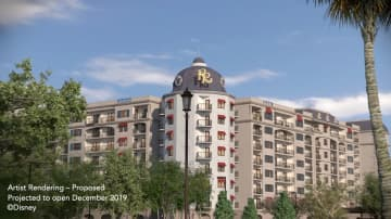 Riviera Resort, a Disney Vacation Club property, has officially opened in Florida. - Disney/TNS/TNS
