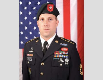 Sgt. 1st Class Michael J. Goble, 33, of Bergen County. (U.S. Army/)