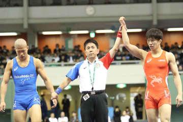 Takuto OTOGURO df. Rinya NAKAMURA by TF, 10-0, 2:59