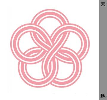 茨城県水戸市産のブランド梅「ふくゆい」のシンボルマーク(同市提供)