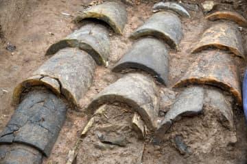 皇帝に関わる建造物か 青島で秦漢時代の排水遺構が出土