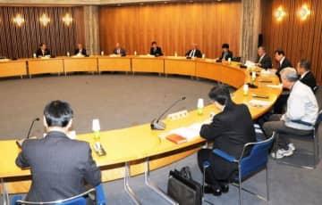 全国植樹祭の主会場を協議した県準備委員会