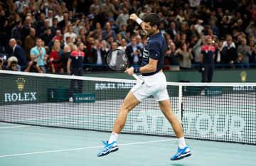 「ATP1000 パリ」でのジョコビッチ