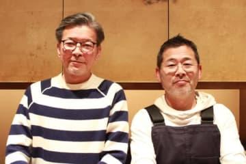 Kei Yoshikawa / BuzzFeed Japan 嬉野雅道ディレクター(左)と藤村忠寿ディレクター
