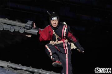 「LIFE! Presents 忍べ!右左エ門~THE SKY ATTACK~」内村光良が伊藤健太郎&黒羽麻璃央の殺陣を絶賛!