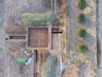 河南省の商代都城遺跡で円形建築の遺構 国家穀物備蓄施設の跡か