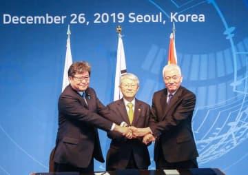 第4回中日韓科学技術相会合、ソウルで開催 協力強化など検討