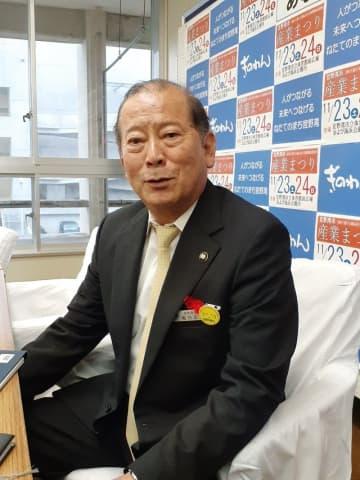 松川正則宜野湾市長