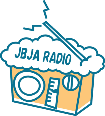 JBJA RADIOのロゴ。泡立ち長持ち・・・。