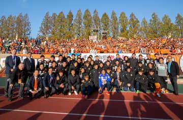 ▲2019年シーズンを戦い抜いたレノファ山口FC