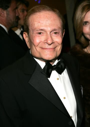 "Writer and composer Jerry Herman attends the opening night of ""La Cage Aux Folles"" at the Marquis Theatre December 9, 2004 in New York City. - Paul Hawthorne/Getty Images North America/TNS"