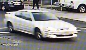 Trenton police believe this car fatally struck a pedestrian on Dec. 22, 2019 in the city's West Ward. The victim died on Dec. 25, 2019. (Police/)