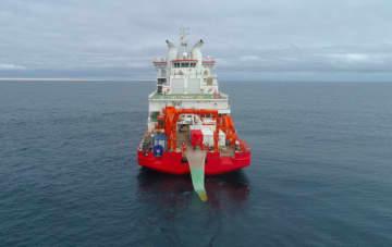 「雪竜2号」、南極で貴重な魚類サンプルを採集