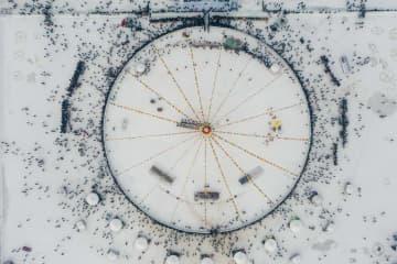 恵み豊かな査干湖で冬の漁 吉林省松原市