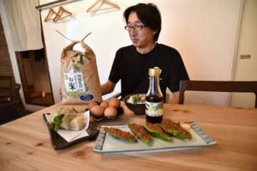 生徒が作った農産物や加工品を使ったメニューを提供する岡山農業高校レストラン