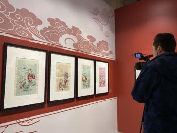 上海で年画の大型展覧会開催 新年を迎えるムードも濃厚に