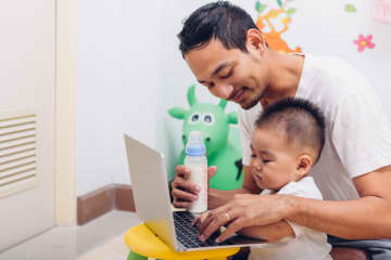 Multitasking may seem like a standard part of parenting, but an absence of free time can seriously impact a parent's health and well-being. - Dreamstime/Dreamstime/TNS