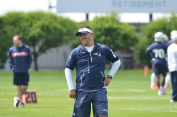 Cleveland Browns, New York Jets and Carolina Panthers all requested permission to interview the New England Patriots offensive coordinator Josh McDaniels. - Nick O'Malley/masslive.com/TNS