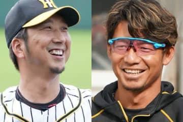2010年代の阪神を支えた藤川球児と鳥谷敬(左から)【写真:荒川祐史】