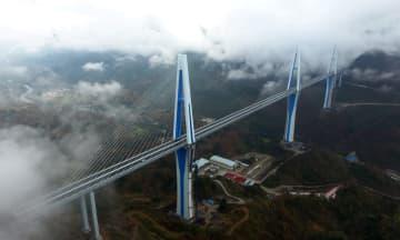 貴州省の平塘特大橋が正式開通