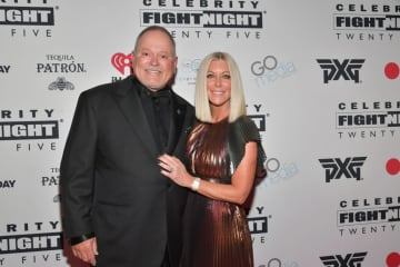Bob Parsons (left) and Renee Parsons attend Celebrity Fight Night XXV on March 22, 2019 in Phoenix, Arizona. - Amy Sussman/Getty Images North America/TNS
