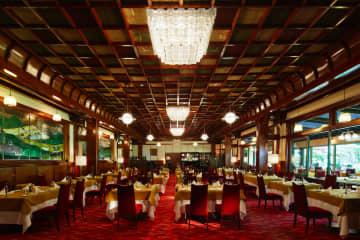 万平ホテル(企画展「クラシックホテル展 -開かれ進化する伝統とその先-」より)