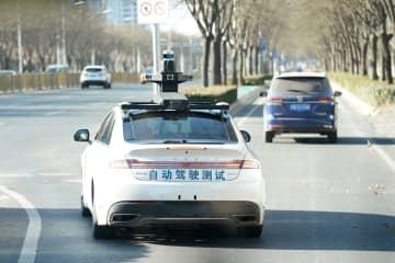 北京の公道で初の人を乗せた自動運転車の走行試験