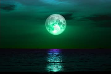 Experts say two supermoons and one blue moon will light up the sky in 2020. (Pixabay/)