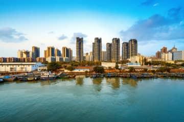 Fishing boats moored in the harbor, Hainan, China. (Image credit: Bigstock/gyn9038)