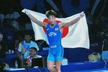 アジア連盟選出の男子グレコローマン2019年レスラー・オブ・ザ・イヤーに選ばれた太田忍(ALSOK)