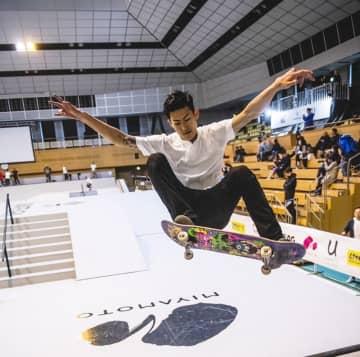 昨年4月に寒川町で開かれたアークリーグ・スケートボード競技