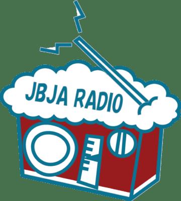 JBJA RADIOのロゴ。新年なので、レッドエールバージョン!