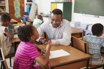 During the 2013-2014 school year, black students made up only 16% of New Jersey's student population but represented 44% of all students suspended. Black students who have one or more black teacher have much better outcomes. - Dreamstime/Dreamstime