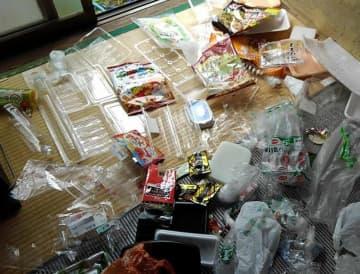 一般家庭から出る1週間のプラスチック製の容器や包装の目安=コンシューマーズ京都提供