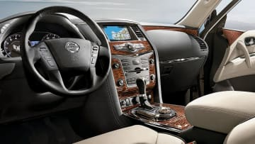 Interior of 2020 Nissan Armada. - Nissan/Nissan/TNS