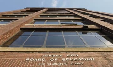 The Jersey City Board of Education, located at 346 Claremont Ave. (Journal file photo) (Journal file photo/)