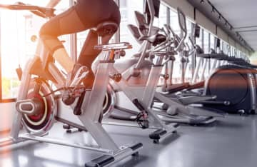 Exercise bike for cardio workout at the gym. - Dreamstime/TNS