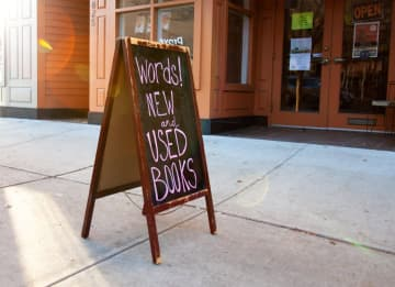 words!, an independent bookstore in Asbury Park, is becoming a cooperative. (Naomi Whitestone Brindley/)