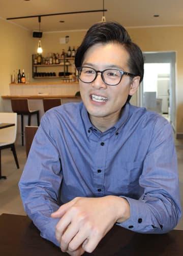 地元の良さ、地場の野菜の発信などを目指し、レストラン「ビストロ アベイジャ」を開店。東京のレストランへの地場野菜の物販事業も進める遠藤さん