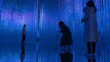 光と影のミュージアム チームラボ・ボーダーレス上海