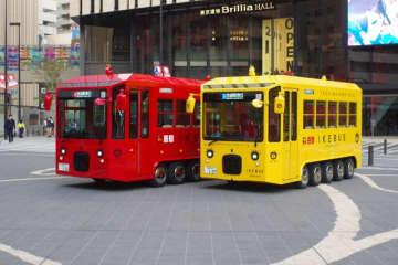 「池袋で黄色いバスを見ると幸せになる」…都市伝説の正体・イケバスに乗ってみた ポケモンGOも楽しめる