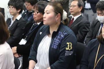 日本球界初の女性スカウトとなったオリックス・乾絵美氏【写真:橋本健吾】