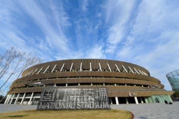 東京五輪が開かれる新しくなった国立競技場