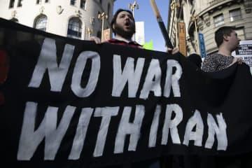 米サンフランシスコで抗議集会 イラン司令官殺害で